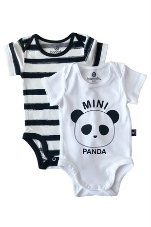 Bebek Body - 2li Mini Panda